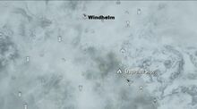 Откос Крегвеллоу на карте