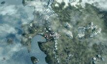Воронья Скала на карте