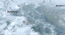 Душник Йал на карте