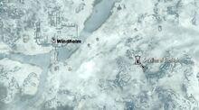 Sacellum of Boethiah on map