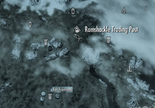 Ramshackle Trading Post on map