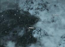 Роща Великанов на карте