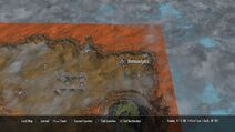Хамунаптра на карте