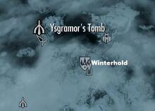 Гробница Исграмора на карте