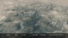 Deepwood Redoubt on map