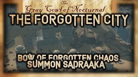 """The Forgotten City"" Side Quest Walkthrough! - ""The Gray Cowl of Nocturnal"" - Skyrim SE - Legacy"