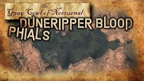 """Duneripper Blood Phials"" Side Quest Walkthrough - ""Gray Cowl of Nocturnal"" - Skyrim SE (Legacy)"