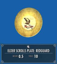 Elder Scrolls Plate Redguard