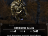 Birthright of Astalon