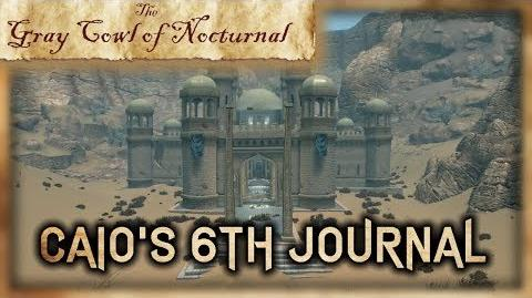 """Caio's 6th Journal"" Location! - ""Gray Cowl of Nocturnal"" - Skyrim SE (Legacy)"