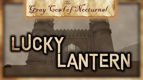 """Lucky Lantern"" Permanent Passive Effect! - ""The Gray Cowl of Nocturnal"" - Skyrim SE - Legacy"