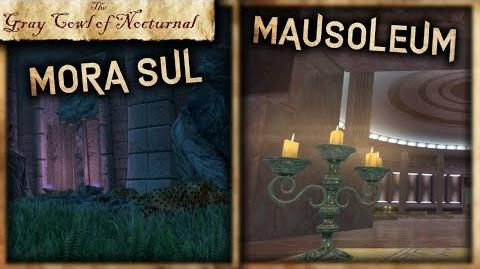 """Mora Sul and The Mausoleum"" Walkthrough! - ""Gray Cowl of Nocturnal"" - Skyrim SE (Legacy)"