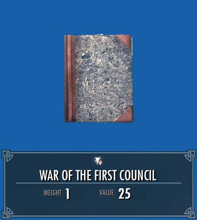 War of the First Council