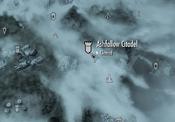 Ashfallow Citadel on map