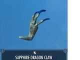 Sapphire Dragon Claw
