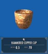 Hammered Copper Cup SSE
