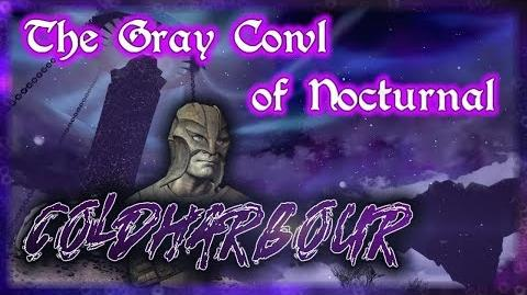 "Skyrim SE ""The Gray Cowl of Nocturnal"" - ""Coldharbour"" Walkthrough!"