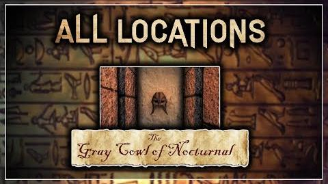 "All Locations in the Alik'r Desert! - ""The Gray Cowl of Nocturnal"" - Skyrim SE (Legacy)"