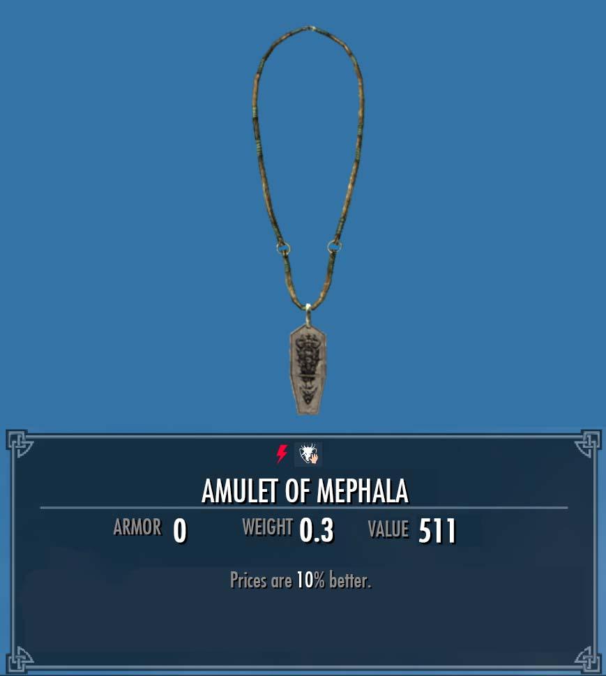 Amulet Of Mephala Legacy Of The Dragonborn Fandom