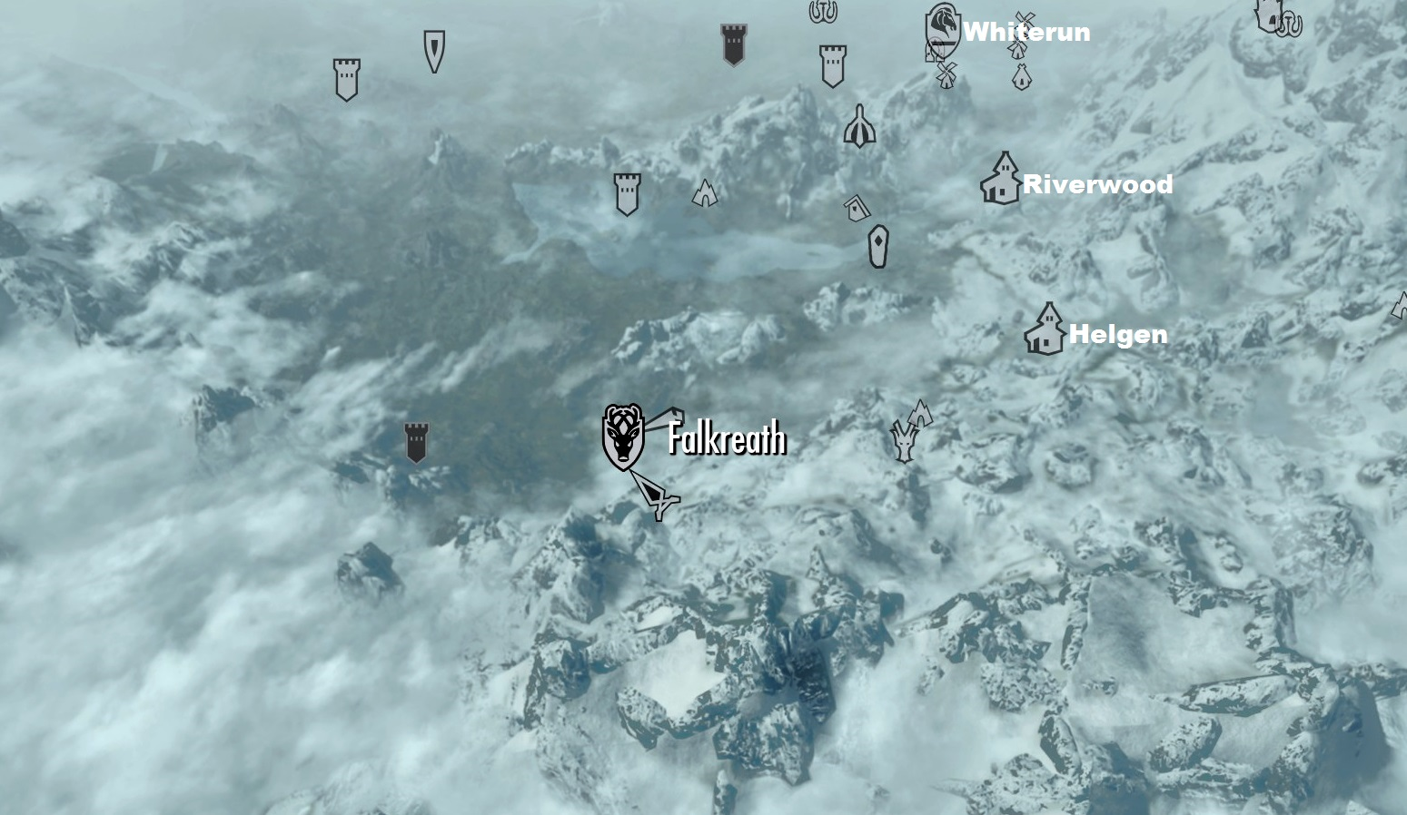 Falkreath on mappng Image Falkreath on
