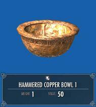 Hammered Copper Bowl 1 SSE