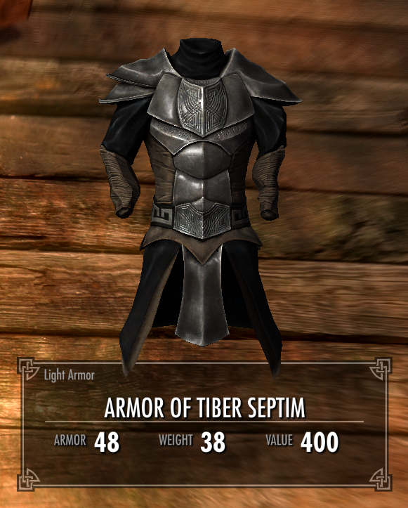 Armor of Tiber Septim | Legacy of the Dragonborn | FANDOM