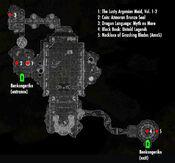 Benkongerike Great Hall-localmap