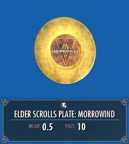 Elder Scrolls Plate Morrowind