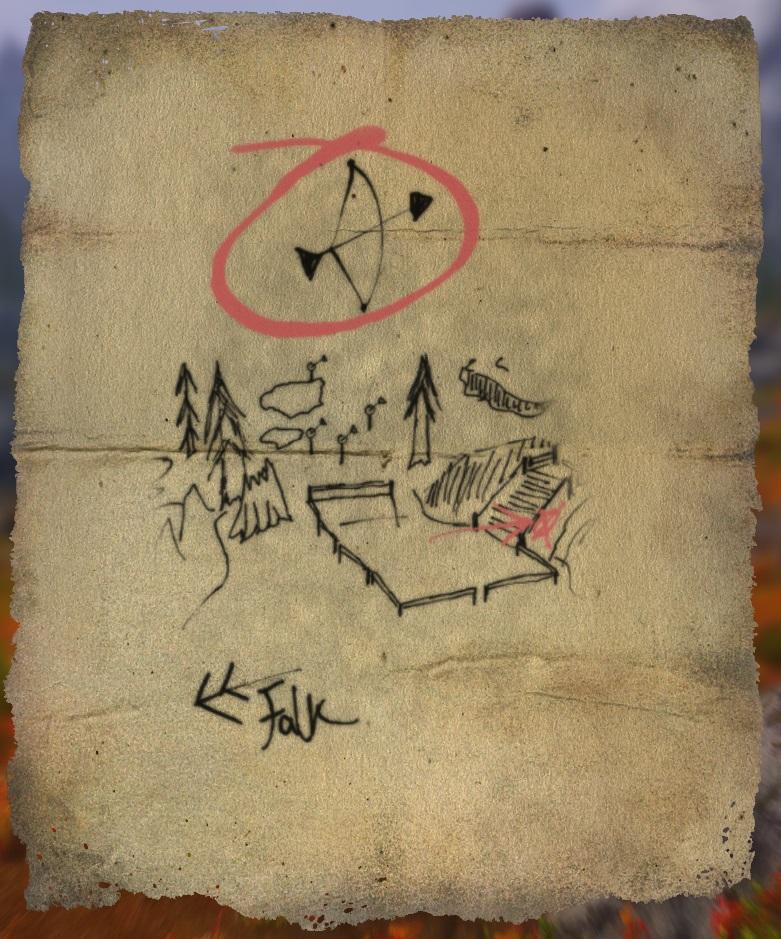 Treasure Map XXIII | Legacy of the Dragonborn | FANDOM ...