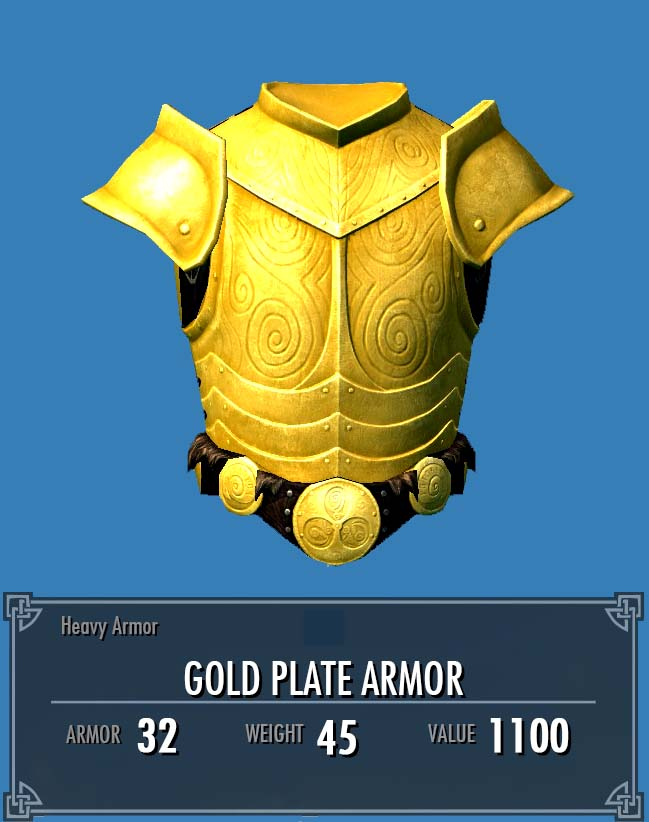 Gold Plate Armor Legacy Of The Dragonborn Fandom