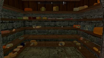Cheese cupboard