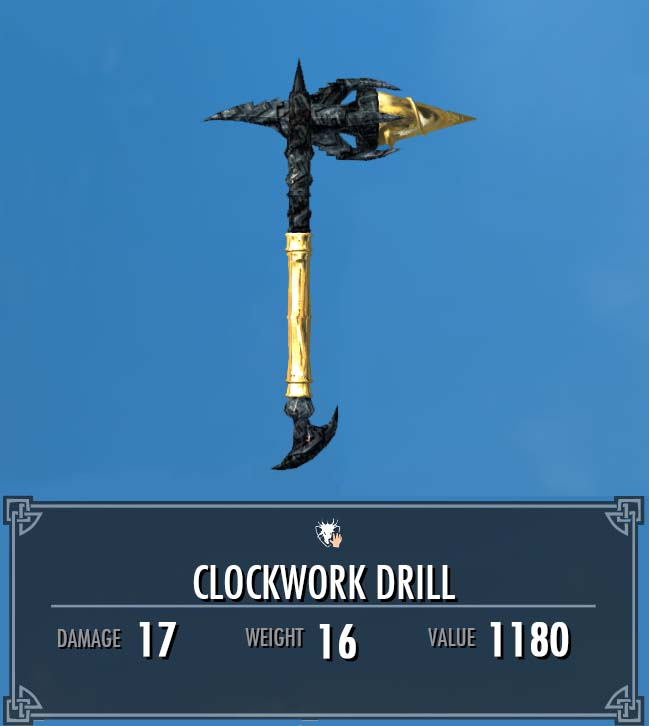 Clockwork Drill | Legacy of the Dragonborn | FANDOM powered by Wikia