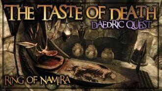 "(Daedric Displays -6) Ring of Namira - ""The Taste Of Death"" Walkthrough - Skyrim SE - Ace"