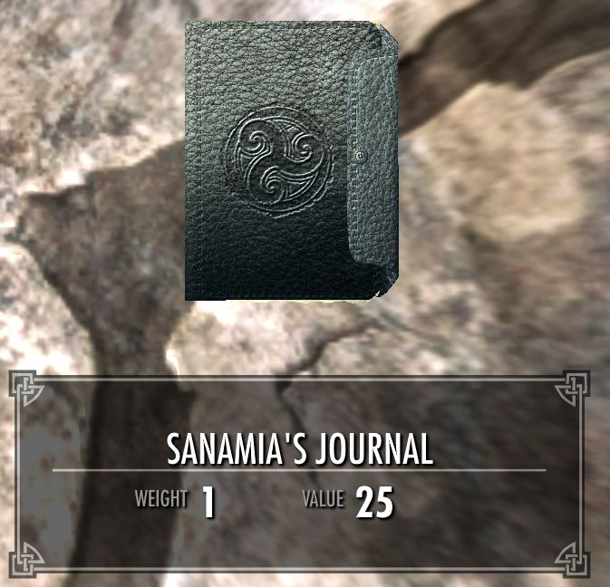 Sanamias Journal 2 Legacy Of The Dragonborn Fandom Powered By