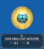 Elder Scrolls Plate Battlespire