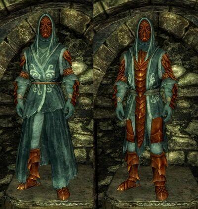Robe vs armored