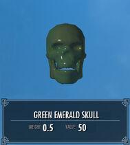 Green Emerald Skull SSE