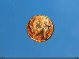 Ancient Khajiit Bronze Piece