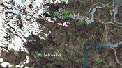 Dead Crone Rock on map