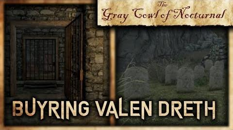 "What Happens if You Bury Valen Dreth? - ""Gray Cowl of Nocturnal"" - Skyrim SE"
