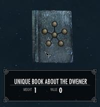 UniqueBookOnTheDwemer