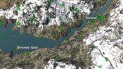 Fishermans Island on map