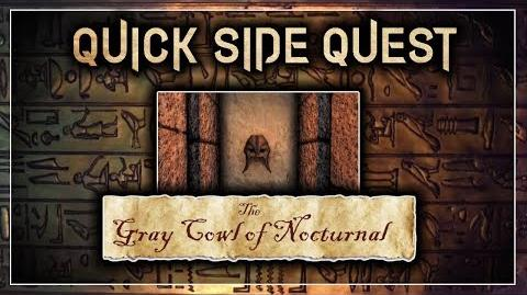 "Quick Side Quest Guide! - ""The Gray Cowl of Nocturnal"" - Skyrim SE (Legacy)"