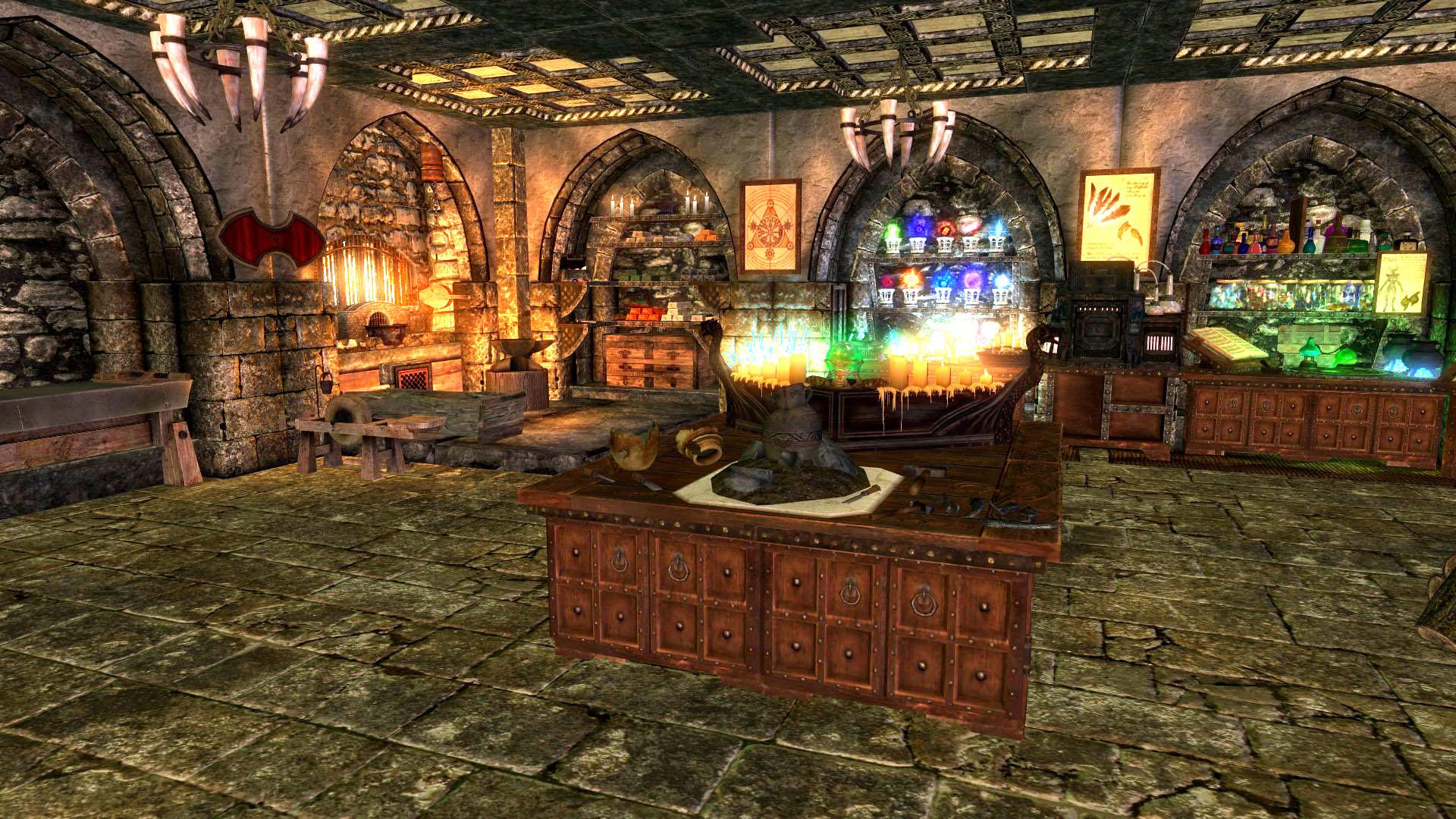 Crafting Room Legacy Of The Dragonborn Fandom Powered   HD
