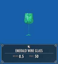Emerald Wine Glass SSE