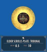 Elder Scrolls Plate Tribunal