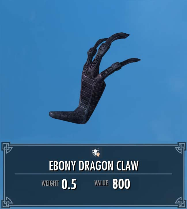 How to get the ebony claw