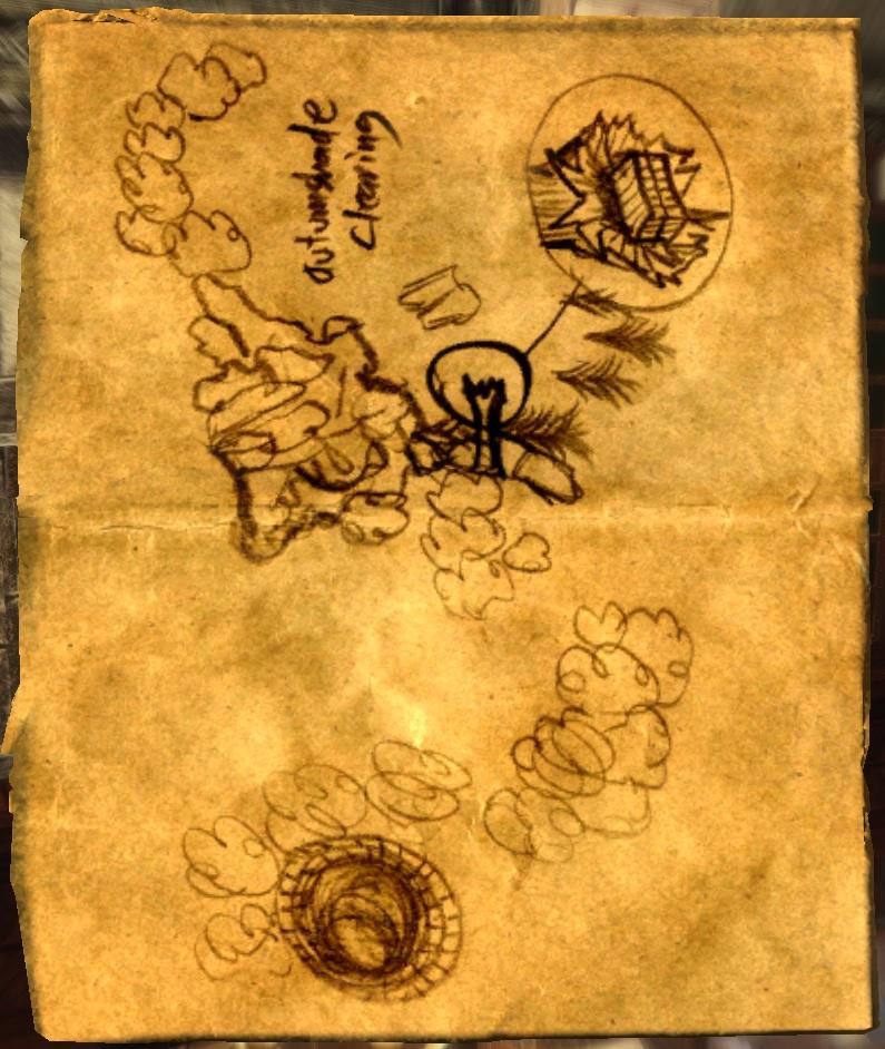 Treasure Map XI | Legacy of the Dragonborn | FANDOM powered by Wikia