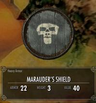 Marauder shield