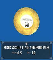 Elder Scrolls Plate Shivering Isles
